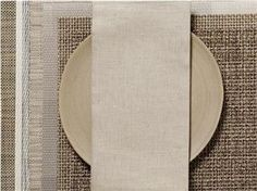 Chilewich | Linen Napkins S/8 | Flax