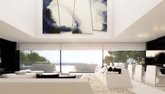 The latest house project in Ibiza by Spanish architect A-cero _