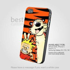 Calvin And Hobbes Funny Face - iPhone 4/4s/5 iPod 4/5 Samsung Galaxy s2/s3/s4 Case | BestCover - Accessories on ArtFire on Wanelo