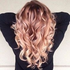 Rose Gold - Hair Colors To Try This Fall-Winter Season - Photos