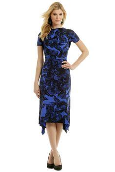 Juan Carlos Obando Royal Feather Dress