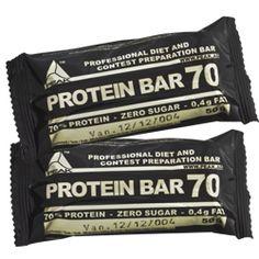 Protein Bar 70 - Zero Sugar, High Protein, low Fat