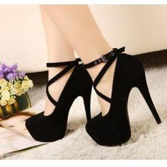 Black heels I NEED these Shoe Addict black heels |2013 Fashion High Heels|