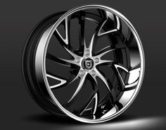 Brushed/Gloss Black with Chrome Lip Jeep Rims, Truck Rims, Car Rims, Rims For Cars, Rims And Tires, Custom Wheels, Custom Cars, Custom Chevy Trucks, Ram Trucks