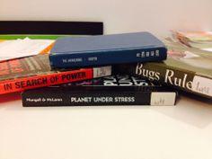 """Global Swarming"" - The awakening / In search of power - Bugs rule / Planet under stress   #haiku #butlerbookspine"