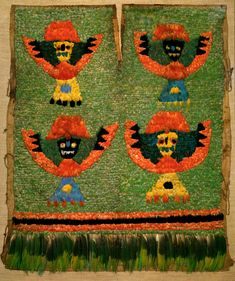 Feathered Tabard. Peru