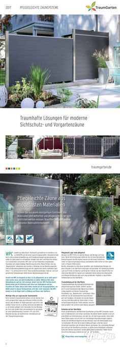 Fantastic solutions for modern privacy protection - easy-care fences made of mo . - Fantastic solutions for modern privacy protection – easy-care fences made of the latest materials - Garden Fence Panels, Diy Fence, Backyard Fences, Garden Fencing, Backyard Landscaping, Herb Garden Design, Modern Garden Design, Diy Garden, Garden Care