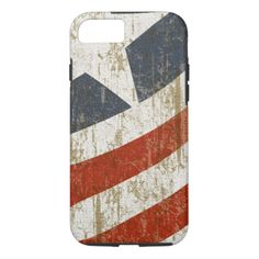Vintage Faded American iPhone 7 Case
