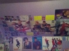 My other wall of posters