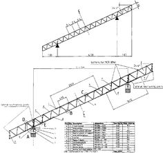 Resultado de imagen para dimensions of timber truss Steel Trusses, Roof Trusses, Steel Frame House, A Frame House, Roof Structure, Steel Structure, Roof Truss Design, Building A Pole Barn, Unique House Plans