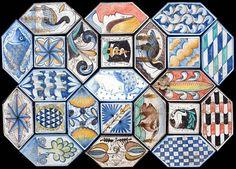 Renaissance Lozenge Tiles