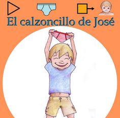 El calzoncillo de José... otro cuento con pictogramas gratuito para Aprendices Visuales