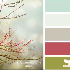 love these colors! Color combination. #color scheme