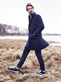 Top model Ryan Burns is front and center once more, tapped as the face for the fall-winter 2015 campaign of Lands' End. Heading outdoors for a return to nature, Ryan poses for relaxed advertising images. Going casual, Ryan showcases Lands' End staples that range from the perfect car coat to slim-cut denim jeans. Enjoyed this …