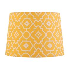 Find Verve Design Medium Yellow Print Mix and Match Lamp Shade at Bunnings Warehouse. Visit your local store for the widest range of lighting & electrical products. Yellow Print, Mixing Prints, Drum Shade, Bedroom Decor, New Homes, Shades, Colours, Lighting, Electrical Products
