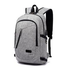 e5304a771c7 Apex Anti-theft Waterproof Travel Backpack With USB Recharging Function