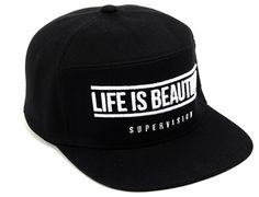 Life Is Beautiful Snapback Cap by SUPERVISION