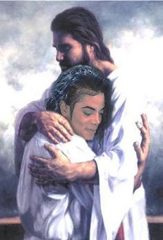 A Beautiful Picture Of Michael With Jesus. We All Miss Him So Much. He's Now In The Hands Of The Lord.