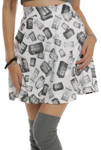 Doctor Who Tumbling Tardis Skirt - Can someone please get me this?! <3
