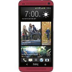 HTC - One Red #HTCOneRed