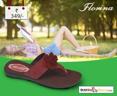 Here's a marvellous #Florina pair from our exclusive range. A must-have for the upcoming season. Get it here