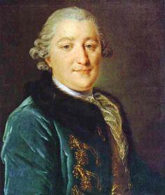 Rokotov  Portrait of Count Ivan G. Orlov (1738-1791) 1762-1765