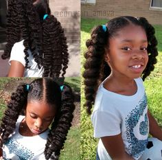Latest Cost-Free affordable human hair wig Strategies People of which african american females are easier to locks loss. Because of diverse styles and also be simp Black Kids Hairstyles, Natural Hairstyles For Kids, Little Girl Hairstyles, Cute Hairstyles, Hairstyle Ideas, Affordable Human Hair Wigs, Curly Hair Styles, Natural Hair Styles, Hair Bundle Deals