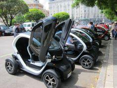 Renault Twizy in Madrid - Elektroautos - Electric cars - Coches eléctricos