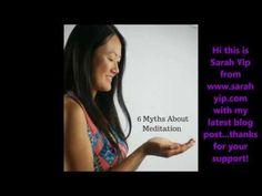 Brisbane Psychic Sarah Yip - 6 Meditation Myths + A Free Guided Meditation - YouTube