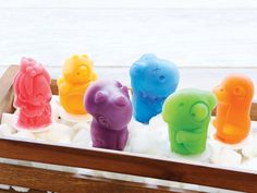 Zoku Dino Pop Molds, 6 Different Easy-release Silicone Popsicle Molds in One Tray, Unique and Fun Prehistoric Designs, BPA-free Cake Pop Molds, Popsicle Molds, Pop Cans, Pop Collection, Ice Pops, Heart For Kids, Creative Industries, Other Recipes, Cute Designs