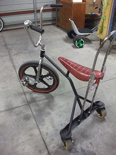 AtomicZombie Bikes, Recumbents, Trikes, Choppers, Ebikes, Velomobiles, and the Great Outdoors: Matt's spinning and drifting homemade bikes f...