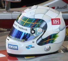 Allan McNish Arai helmet by exfordy, via Flickr