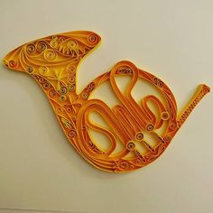 Image result for paper quilling french horn