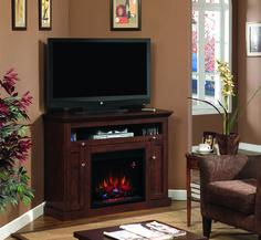 46.25'' Windsor Antique Cherry Entertainment Center Electric Fireplace - 23DE9047-PC81