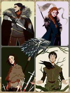 The stark's