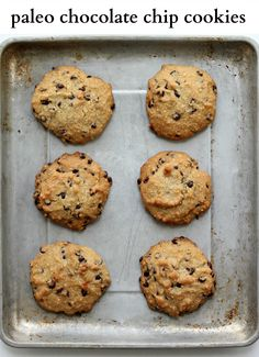 My favorite Gluten Free and Paleo Chocolate Chip Cookie Recipe from Make it Paleo Cookbook!