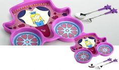 Princess Me Time 3 Piece Meal Set  - Your Little Princess Can\'t Wait To Eat With These!
