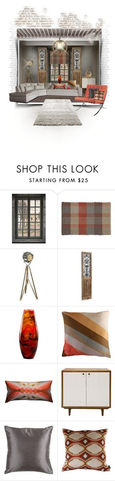 """""""Untitled #127"""" by bexlacey-lloyd ❤ liked on Polyvore featuring interior, interiors, interior design, home, home decor, interior decorating, WALL, Crate and Barrel, Authentic Models and Grandin Road"""