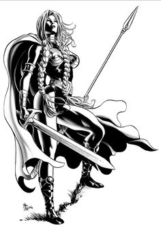 Valkyrie by Mike Deodato Jr.
