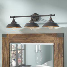 Brummett 3 Light Vanity Light House Ideas Vanity