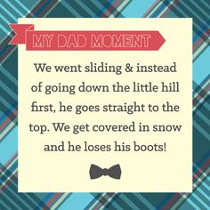 Dad Moments #BigDot #HappyDot