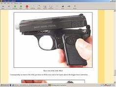 FN baby Browning pistol explained - downloadable at HLebooks.com