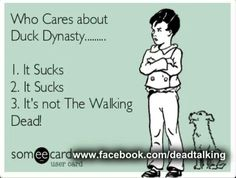 Duck dynasty the walking dead
