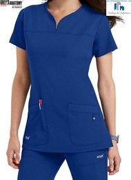 Grey's Anatomy by Barco 2121-439 Filipina Medica de Uniforme Quirurgico