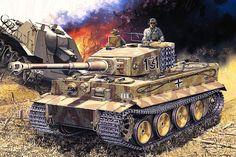 Panzerkampfwagen VI. Tiger art