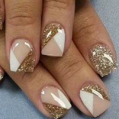 Christmas Nail Designs - My Cool Nail Designs Square Nail Designs, Gel Designs, Nail Art Designs, Cute Spring Nails, Cute Nails, Stylish Nails, Trendy Nails, Natural Gel Nails, Natural Nail Designs