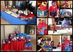 CHS Creative Productions: Spiderman Party~