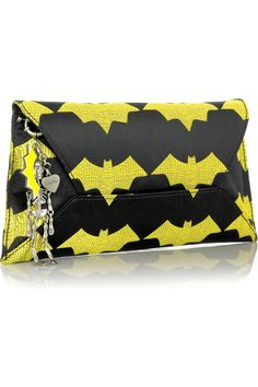 Luella|Charm envelope clutch |NET-A-PORTER.COM