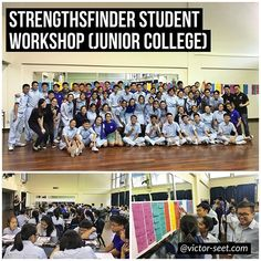 #StrengthsFinder (#CliftonStrengths) #Workshop #program for the JC1 Student Cohort from Catholic Junior College. This was a huge milestone personally as it is the first time we did a workshop for 900 students in one seating. Running 14 concurrent sessions 21 StrengthsFinder trainers were deployed. This student workshop program had a simple focus: help the students discover their innate talents as they start their 2 years journey in a junior college. It was a really crazy and stressful time…