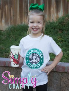 Ariel Starbucks Coffee Shirt